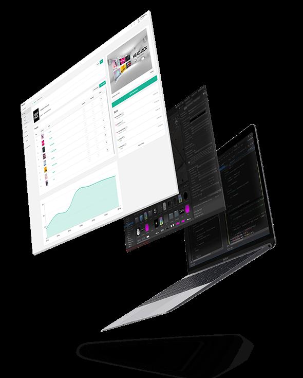 VR,AR,MR app building dashboard
