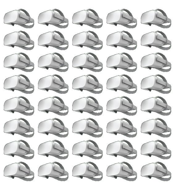 multiple VR headsets