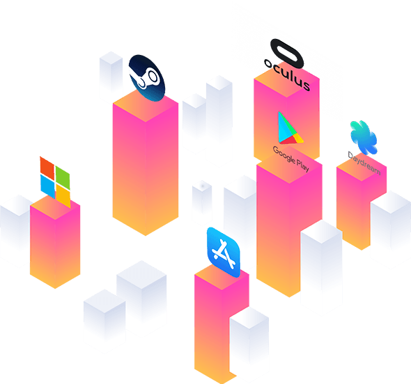 VR/AR distribution platforms