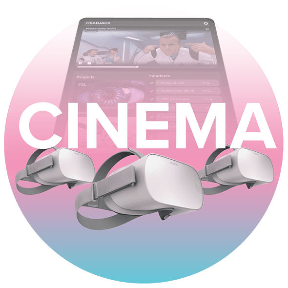 VR 360 cinema player