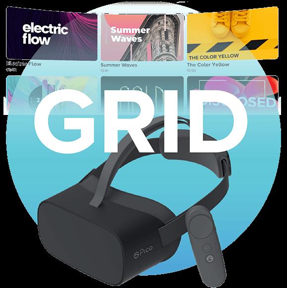 VR 360 video portfolio template