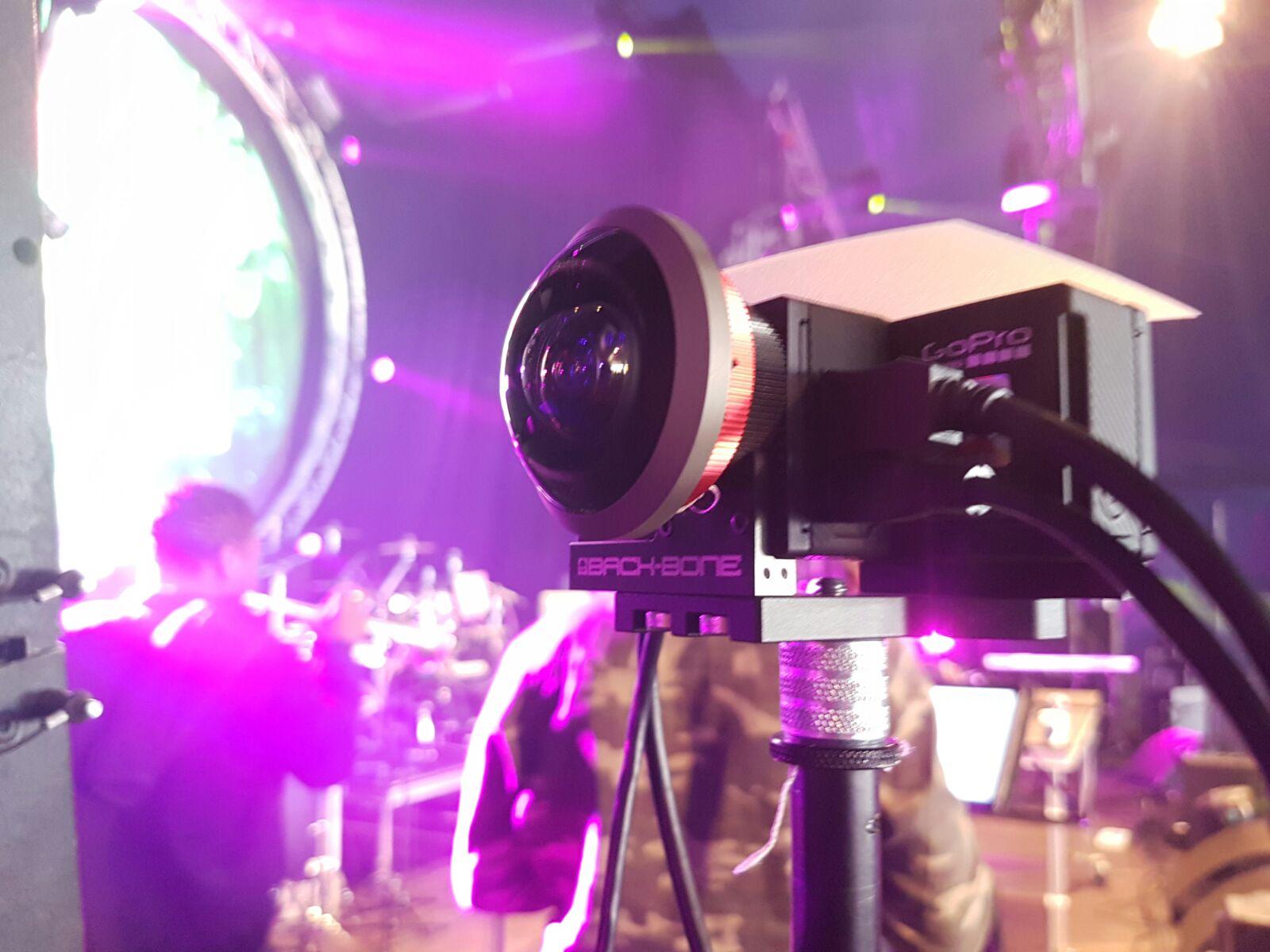 Live 360 VR Camera GoPro Entaniya 250