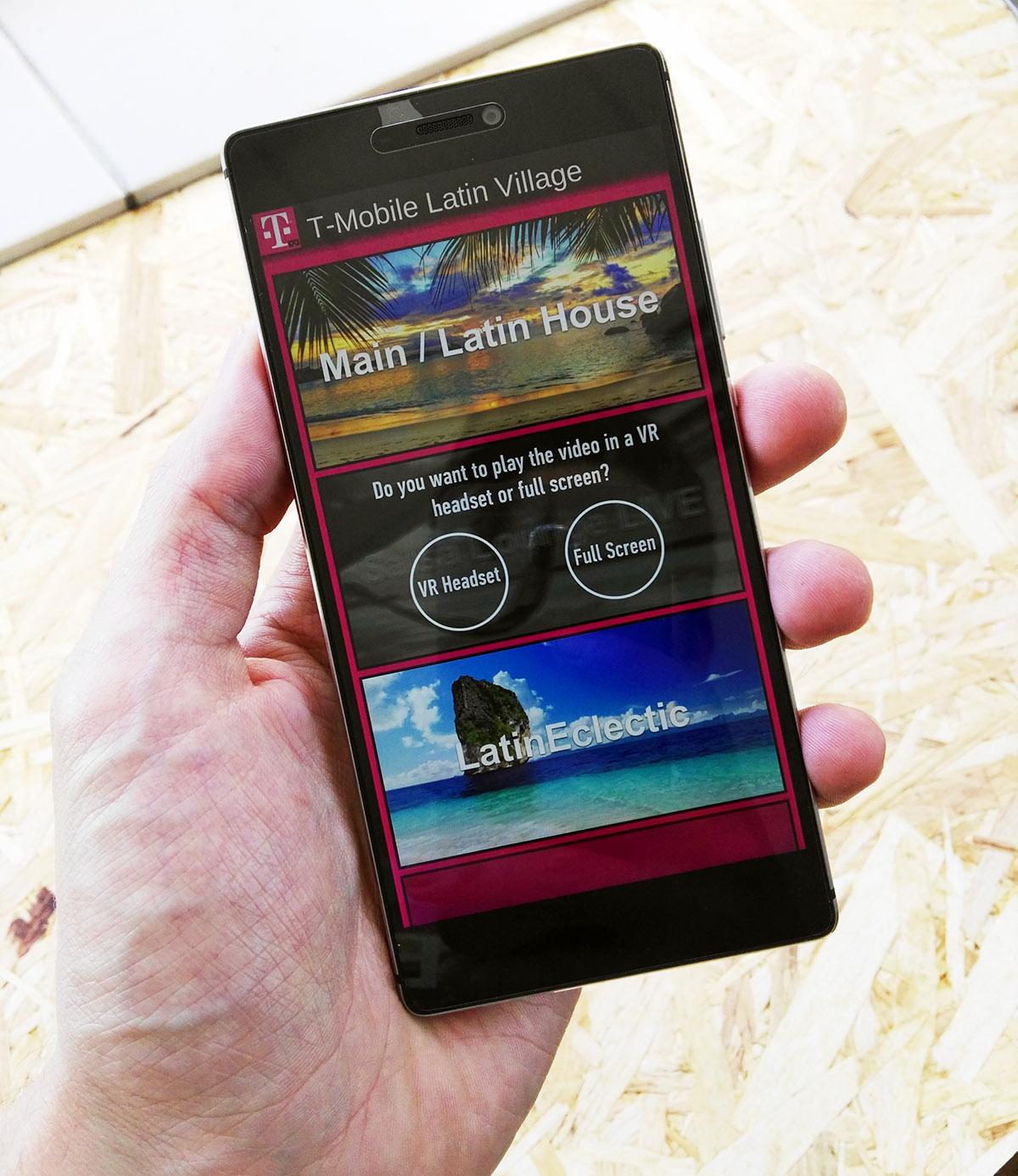 T-Mobile Latin Village app