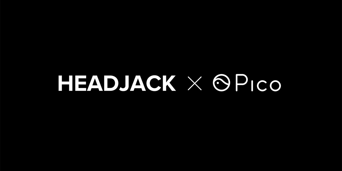 Headjack partners with Pico Interactive